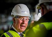 Prince Charles visit HMS Prince of Wales
