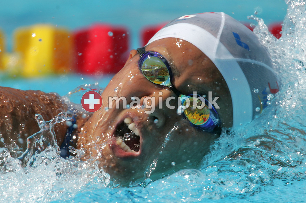 Japan's Ai Shibata swims in the final heat of the women's 800m Freestyle at the FINA World Championships in Montreal, Canada Friday 29 July, 2005.  (Photo by Patrick B. Kraemer / MAGICPBK)