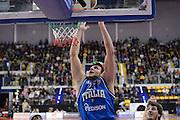 BIELLA 16 DICEMBRE 2012<br /> BASKET ALL STAR GAME<br /> NAZIONALE ITALIANA - ALL STAR<br /> NELLA FOTO ALESSANDRO GENTILE<br /> FOTO CIAMILLO