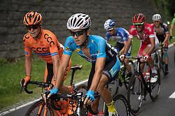 08.07.2017, Wels, AUT, Ö-Tour, Österreich Radrundfahrt 2017, 6. Etappe von St. Johann/Alpendorf nach Wels (203,9 km), im Bild v.l. Jan Tratnik (SLO, Team CCC Sprandi Polkowice), Riccardo Zoidl (AUT, Team Felbermayr Simplon Wels) // f.l. Jan Tratnik of Slovenia (Team CCC Sprandi Polkowice) and Riccardo Zoidl of Austria (Team Felbermayr Simplon Wels) during the 6th stage from St. Johann/Alpendorf to Wels (203,9 km) of 2017 Tour of Austria. Wels, Austria on 2017/07/08. EXPA Pictures © 2017, PhotoCredit: EXPA/ Reinhard Eisenbauer