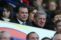 Photo: Pete Lorence.<br />Leicester City v Sheffield Wednesday. Coca Cola Championship. 02/12/2006.<br />Leicester City CEO, Tim Davies, watches the match with potential buyer, Milan Mandaric.