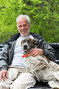 In his 19th year with the program,  Johnny Parker was originally brought on by founder Samuel Mockbee to serve as a jack-of-all-trades handyman. He continues to hold that post and much more for Rural Studio. Seen here  with his dog, Booboo.