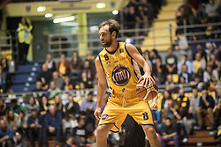 November 12, 2017 - Turin, Piemonte/Torino, Italy - Giuseppe Poeta(Fiat Torino Auxilium) during the Basketball match, Serie A: Fiat Torino Auxilium vs Vanoli Cremona. Torino wins 88-80 at Pala Ruffini in Turin 12th november 2017 Photo by Alberto Gandolfo/Pacific Press) (Credit Image: © Alberto Gandolfo/Pacific Press via ZUMA Wire)