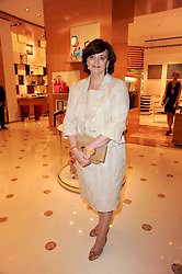 CHERIE BLAIR at a party to celebrate the opening of the Louis Vuitton Bond Street Maison, New Bond Street, London on 25th May 2010.