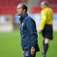 St Johnstone v Turriff Utd FC.. 02.08.16  IRN-BRU CUP 1st Round  <br />U20's coach Alec Cleland<br />Picture by Graeme Hart.<br />Copyright Perthshire Picture Agency<br />Tel: 01738 623350  Mobile: 07990 594431
