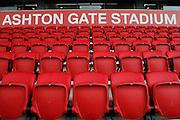 Ashton Gate stadium pre-match before the EFL Sky Bet Championship match between Bristol City and Burton Albion at Ashton Gate, Bristol, England on 4 March 2017. Photo by Richard Holmes.