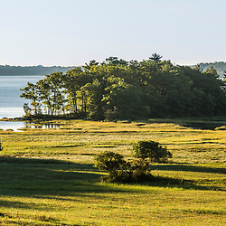 The Nature Conservancy's Lubberland Creek Preserve on the shores of Great Bay in Newmarket, New Hampshire.