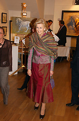 HRH PRINCESS ALEXANDRA at an exhibition of art by Sam Sopwith held at 27 Cork Street, London W1 on 23rd May 2006.<br />