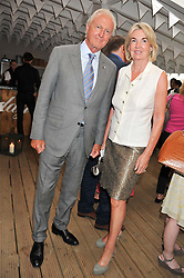 GALEN & HILARY WESTON at a party to celebrate the publication on 'Let's Eat: Recipes From My Kitchen Notebook' by Tom Parker Bowles held at Selfridge's Rooftop. Selfridge's, Oxford Street, London on 27th June 2012.