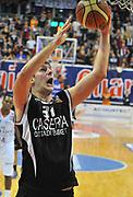 DESCRIZIONE : Biella Lega A 2012-13 Angelico Biella Juve Caserta<br /> GIOCATORE : Stevan Jelovac<br /> SQUADRA :  Juve Caserta<br /> EVENTO : Campionato Lega A 2012-2013 <br /> GARA : Angelico Biella Juve Caserta<br /> DATA : 14/10/2012<br /> CATEGORIA : Penetrazione Tiro<br /> SPORT : Pallacanestro <br /> AUTORE : Agenzia Ciamillo-Castoria/ L.Goria<br /> Galleria : Lega Basket A 2012-2013<br /> Fotonotizia : Biella Lega A 2012-13  Angelico Biella Juve Caserta<br /> Predefinita