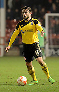Sheffield United goalscorer Jose Baxter during the Sky Bet League 1 match between Walsall and Sheffield Utd at the Banks's Stadium, Walsall, England on 17 March 2015. Photo by Alan Franklin.