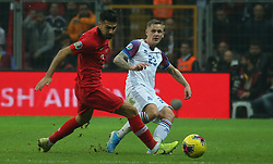 November 15, 2019: Iceland's Ari Freyr Skulason during the Euro 2020 group H qualifying soccer match between Turkey and Iceland at Turk Telekom Stadium in Istanbul, Turkey, Wednesday November 14, 2019. (Credit Image: © Tolga Adanali/Depo Photos via ZUMA Wire)