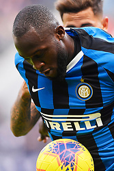 26.01.2020, Stadio Giuseppe Meazza, Mailand, ITA, Serie A, Inter Mailand vs Cagliari Calcio, 21. Runde, im Bild Romelu Lukaku (F.C. Internazionale Milano) // Romelu Lukaku (F.C. Internazionale Milano); during the Seria A 21th round match between Inter Mailand and Cagliari Calcio at the Stadio Giuseppe Meazza in Mailand, Italy on 2020/01/26. EXPA Pictures © 2020, PhotoCredit: EXPA/ laPresse/ Fabio Ferrari<br /> <br /> *****ATTENTION - for AUT, SUI, CRO, SLO only*****
