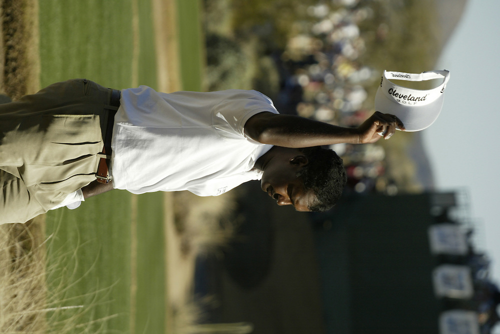 Vijay Singh..2003 Phoenix Open.TPC at Scottsdale, Scottsdale, AZ..January  26, 2003..Photograph by Darren Carroll..X67646