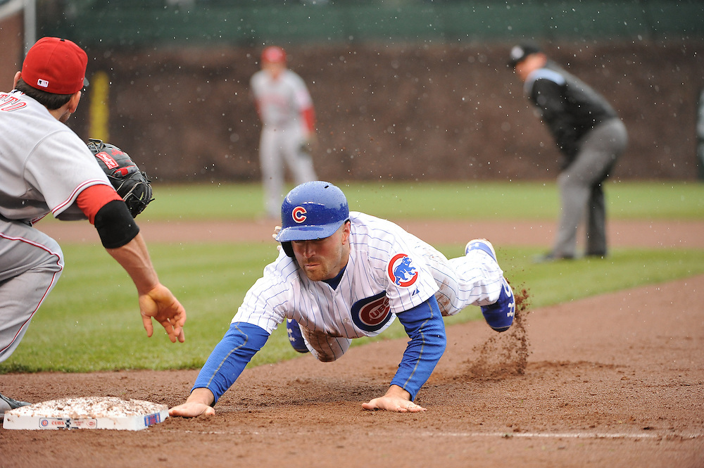 (AP Photo/Micah Tapman)Reds @ Cubs May 3, 2013