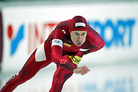 Skøyter, 9-10. november 2002. Verdenscupåpning, Vikingskipet, Steven Elm, Canada