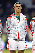 16 October 2014: Monica Alvarado (MEX). The Mexico Women's National Team played the Costa Rica Women's National Team at Sporting Park in Kansas City, Kansas in a 2014 CONCACAF Women's Championship Group B game, which serves as a qualifying tournament for the 2015 FIFA Women's World Cup in Canada. Costa Rica won the game 1-0.