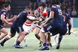 November 25, 2017 - Paris, France - Yoshikazu Fujita in action during the International test match between France and Japan at U Arena. (Credit Image: © Nicolas Briquet/SOPA via ZUMA Wire)