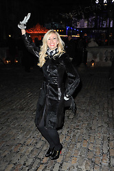 JENNY HALPERN-PRINCE at Skate presented by Tiffany & Co at Somerset House, London on 22nd November 2010.