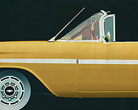 If you want to give your interior an extra stylish detail, this painting by a 1959 Chevrolette Impala Convertible is perfect. –<br />