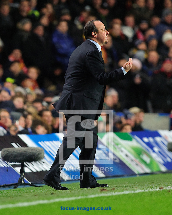 Picture by Gerald O'Rourke/Focus Images Ltd +44 7500 165179.05/12/2012.Rafa Benitez manager of Chelsea during the UEFA Champions League match at Stamford Bridge, London.
