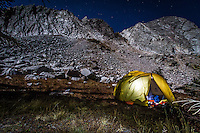 This is one of my favorite spots to camp right at the base of the mountains at about 10,000 feet elevation. This particular night I hiked in after the sun had gone down and relied on the bright full moon for light. The moonlight was spectacular, and I woke early the net morning to take some photos of the sunrise. The Snowy Range Mountains are one of my favorite places on this Earth!