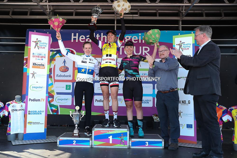 09-04-2017: Wielrennen: Healthy Ageing Tour: Borkum<br /> BORKUM (NED) wielrennen<br /> Ellen van Dijk heeft de Healthy Ageing Tour gewonnen. De renster van Sunweb ging vanaf de eerste dag aan de leiding in deze Groningse etappekoers en zag de zege niet meer in gevaar komen tijdens de slotrit op Borkum.Van Dijk won ook al in 2013 en 2016.