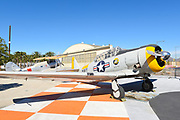 Historic Era Plane Display At The Great Park Irvine