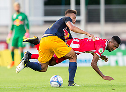 21.07.2017, Franz Fekete Stadion, Kapfenberg, AUT, 2. FBL, KSV 1919 vs FC Liefering , 1. Runde, im Bild Lucas Rangel Nunes Goncalves (KSV 1919), Igor Julio Dos Santos dPaulo (FC Liefering) // during the Austrian Erste Liga Match, 1th Round, between KSV 1919 and FC Liefering at the Franz Fekete Stadium, Kapfenberg, Austria on 2017/07/21, EXPA Pictures © 2017, PhotoCredit: EXPA/ Dominik Angerer
