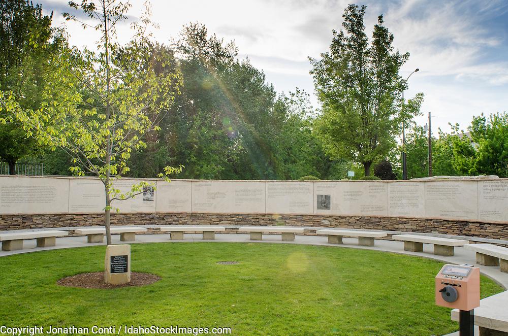 The Anne Frank Memorial in Boise Idaho