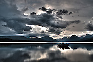 Sunset at Lake McDonald | Glacier National Park | August 16, 2014