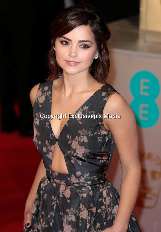 Feb 8, 2015 - EE British Academy Film Awards 2015 - Red Carpet Arrivals at Royal Opera House<br /> <br /> Pictured: Jenna Louise Coleman<br /> ©Exclusivepix Media
