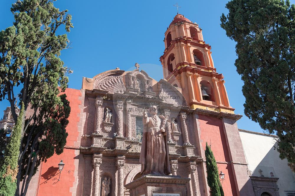 Oratorio of San Felipe Neri church in the colonial UNESCO heritage city of San Miguel de Allende, Mexico.