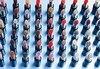A selection of lipsticks.