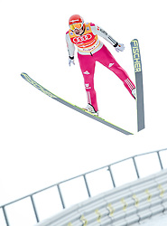 18.01.2014, Casino Arena, Seefeld, AUT, FIS Weltcup Nordische Kombination, Seefeld Triple, Skisprung, im Bild  Eric Frenzel (GER) //  Eric Frenzel (GER)during Ski Jumping at FIS Nordic Combined World Cup Triple at the Casino Arena in Seefeld, Austria on 2014/01/18. EXPA Pictures © 2014, PhotoCredit: EXPA/ JFK