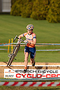 National Trophy cyclocross, Chantry Park, Ipswich, Suffolk UK. October 29, 2006