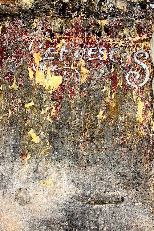 Wall in Manzanillo, Granma, Cuba.