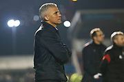 Keith Curle during the EFL Sky Bet League 2 match between Northampton Town and Crewe Alexandra at the PTS Academy Stadium, Northampton, England on 16 November 2019.