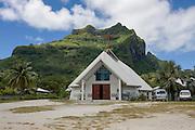 French Polynesia, Bora Bora, Mount Pahia