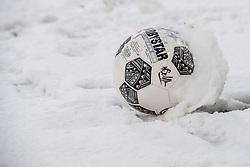 10-12-2017 NED: FC Utrecht - Feyenoord, Utrecht<br /> De aftrap van de competitiewedstrijd tussen FC Utrecht en Feyenoord is toch nog afgelast. De bal zal niet rollen in deze sneeuw