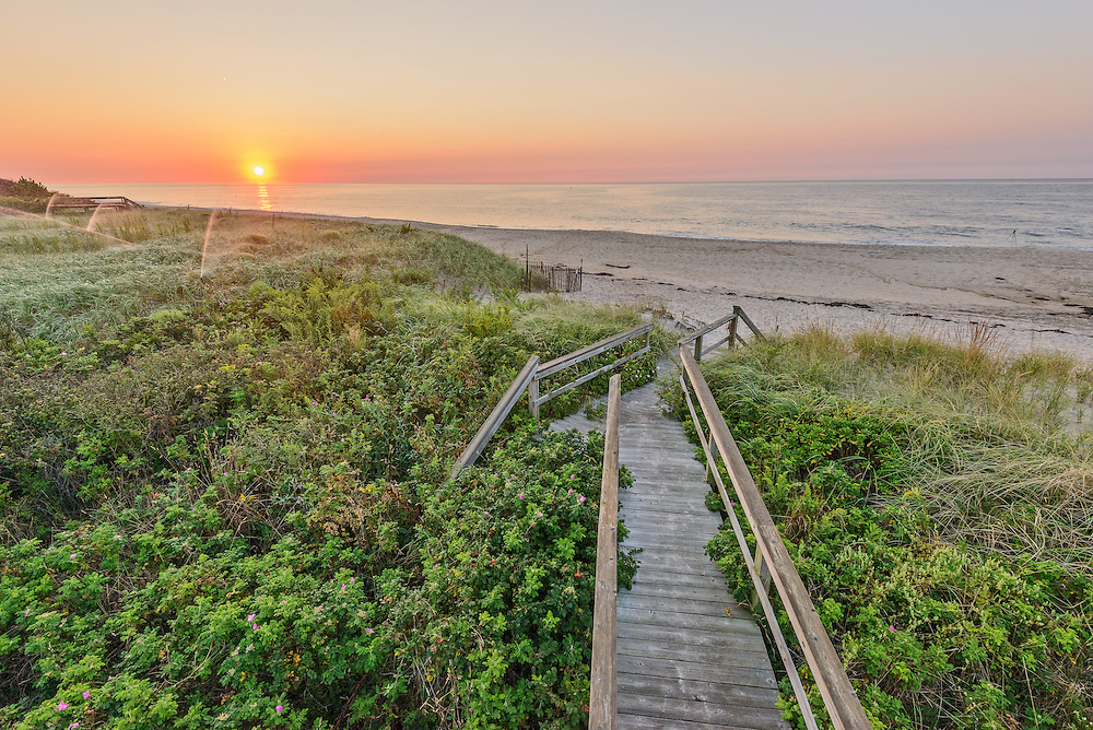 Boardwalk, Sagaponack, Long Island, New York