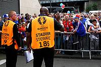 Security Check. Controlli sicurezza <br /> Paris 10-06-2016 Stade de France Footballl Euro2016 France - Romania  / Francia - Romania Group Stage Group A. Foto Matteo Ciambelli / Insidefoto