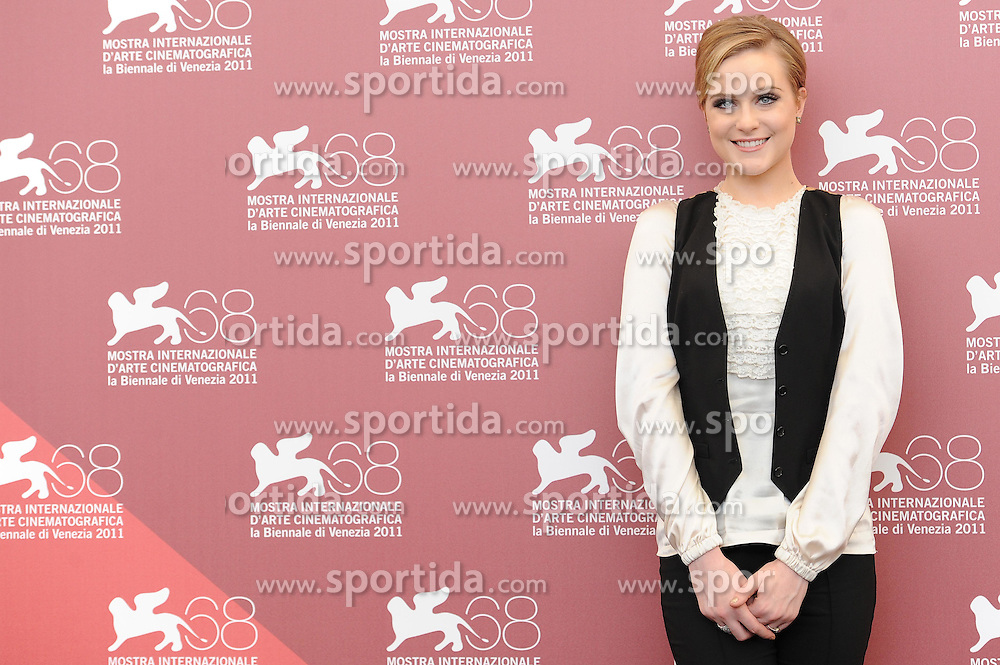 02.09.2011, Venedig, ITA, La Biennale, 68. Filmfestspiele von Venedig, im Bild Evan Rachel Wood. // during 68th Venice Film Festival, mostra del cinema at in Venice Italy on 1/6/2011. EXPA Pictures © 2011, PhotoCredit: EXPA/ Insidephoto/ Massimo Oliva +++++ ATTENTION - FOR AUSTRIA/(AUT), SLOVENIA/(SLO), SERBIA/(SRB), CROATIA/(CRO), SWISS/(SUI) and SWEDEN/(SWE) CLIENT ONLY +++++