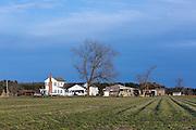 Farm house, Williamstown, North Carolina, USA