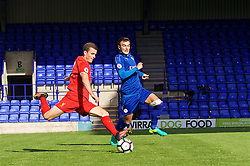 BIRKENHEAD, ENGLAND - Sunday, September 11, 2016: Liverpool's Brooks Lennon in action against Leicester City during the FA Premier League 2 Under-23 match at Prenton Park. (Pic by Concepcion Valadez/Propaganda)