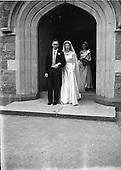 1952 Wedding of Mr. Kevin J Dermedy and Ms. Nuala Sheerin
