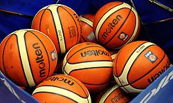 Basketballs- Photo mandatory by-line: Nizaam Jones/JMP - 19/10/2019 - BASKETBALL - SGS Wise Arena - Bristol, England - Bristol Flyers v London Lions - British Basketball League Cup