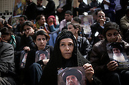 Egypt, Cairo. March 20, 2012 : Egyptian Christians mourn at the funeral of Pope Shenouda III, the head of Egypt's Coptic Orthodox Church, in the Abassiya Cathedral. Thousands of mourners gathered in Cairo for the funeral of Egypt's Orthodox Christian Pope Shenouda.