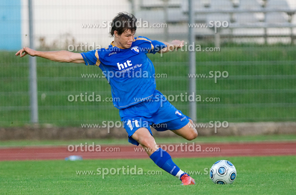 Etien Velikonja of Gorica at 1st football match of 2nd preliminary Round of UEFA Europe League between ND Gorica and FC Lahti, on July 16 2009, in Nova Gorica, Slovenia. (Photo by Vid Ponikvar / Sportida)