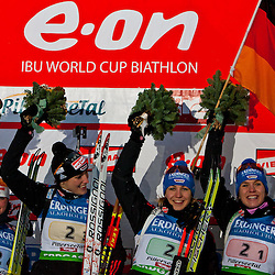 20101211: AUT, IBU Biathlon Worldcup, Hochfilzen, Relay Women